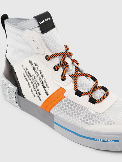 Diesel - S-DESE MID RC, Multicolor/White - Sneakers - Image 4
