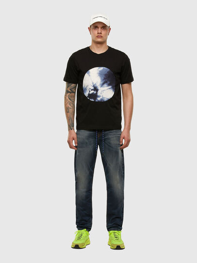 Diesel - T-MOONY-X2, Black - T-Shirts - Image 5