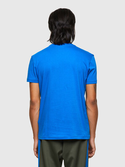 Diesel - T-DIEGOS-E2, Blue - T-Shirts - Image 2