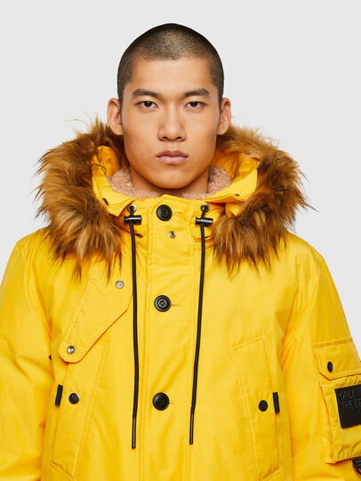 Diesel - W-COLBY, Yellow - Winter Jackets - Image 3