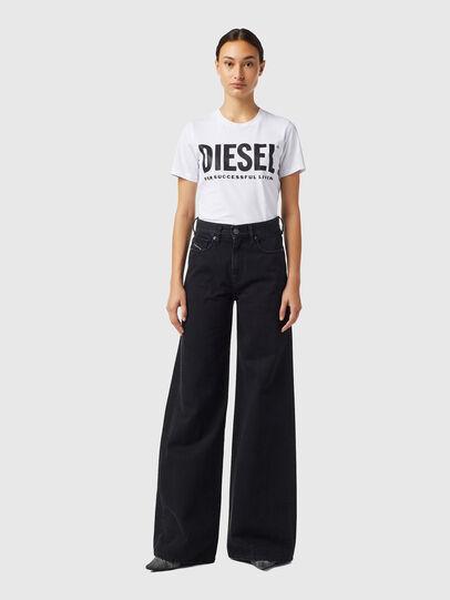 Diesel - D-Akemi Bootcut Jeans Z09RL, Black/Dark Grey - Jeans - Image 5