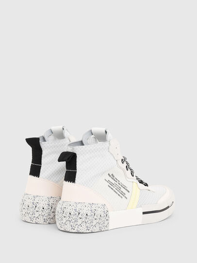 Diesel - S-DESE RC MID W, White - Sneakers - Image 3