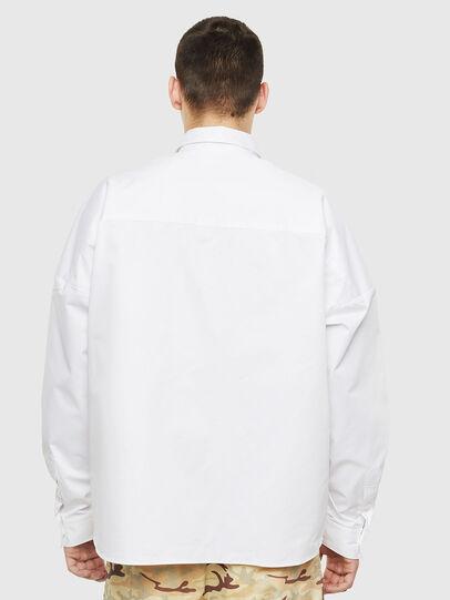 Diesel - S-LOOMY, White - Shirts - Image 2