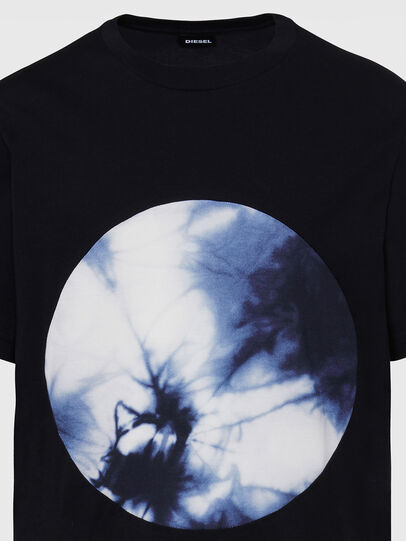 Diesel - T-MOONY-X2, Black - T-Shirts - Image 3