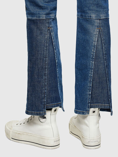 Diesel - D-Earlie Bootcut Jeans 009NP, Medium Blue - Jeans - Image 5