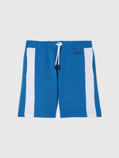 Diesel - UMLB-PAN-SP, Azul marino/Blanco - Pantalones - Image 1