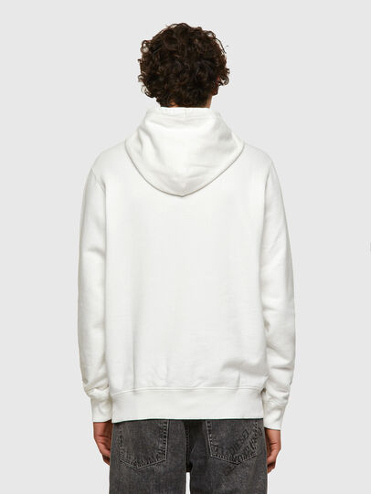 Diesel - DxD-21, White - Sweatshirts - Image 3