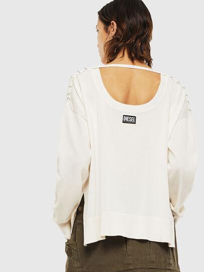 Diesel - M-PERLA-A, White - Sweaters - Image 2
