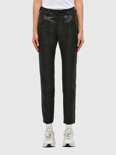 Diesel - Krailey JoggJeans® 069QP, Negro/Gris oscuro - Vaqueros - Image 1