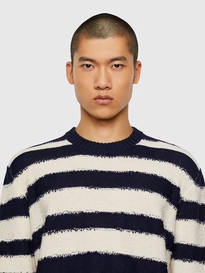 Diesel - K-BRODIE, White/Blue - Sweaters - Image 3