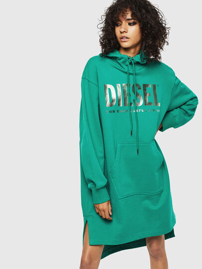 Diesel - D-ILSE-T, Green - Dresses - Image 1