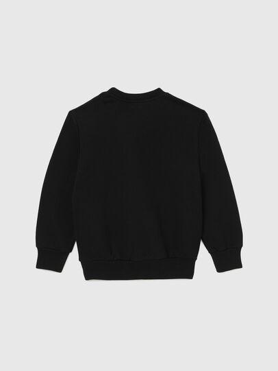 Diesel - SGIRKCUTY OVER, Black - Sweatshirts - Image 2
