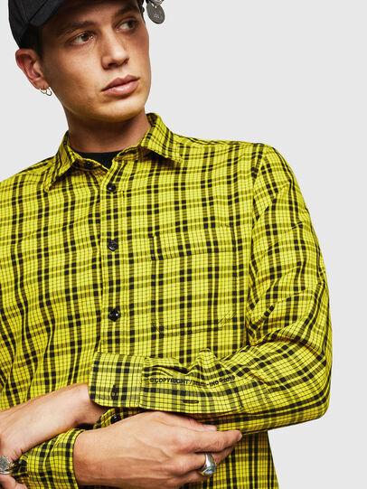 Diesel - S-TROPP, Yellow - Shirts - Image 3