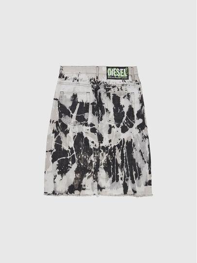 Diesel - DE-ELLYOT-SP, White/Black - Skirts - Image 2