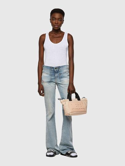 Diesel - D-Ebbey Bootcut Jeans 09A04, Light Blue - Jeans - Image 5