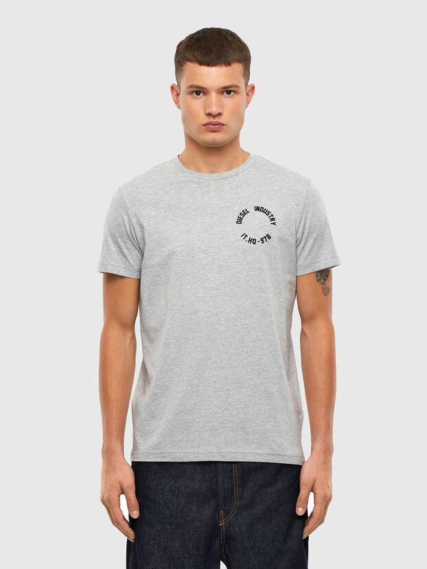 T-DIEGOS-N26, Grey - T-Shirts