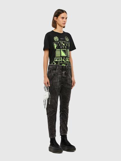 Diesel - FAYZA JoggJeans® 009FZ, Black/Dark Grey - Jeans - Image 6