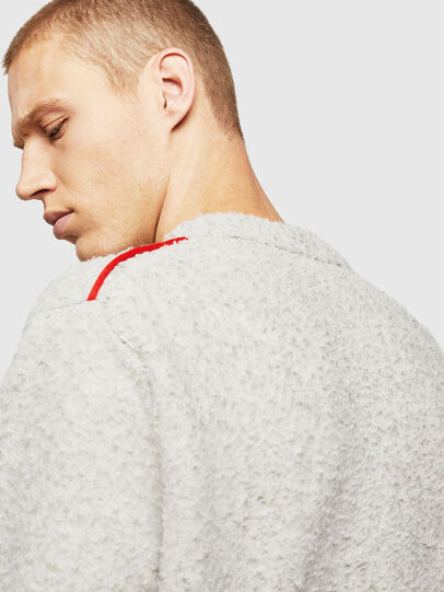 Diesel - K-CASY, Light Grey - Sweaters - Image 3