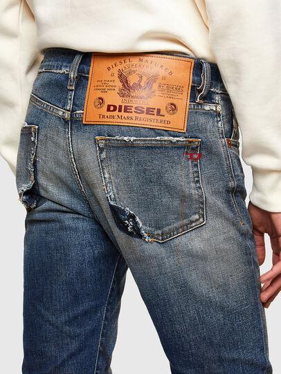 Diesel - D-Strukt Slim Jeans 009TX, Dark Blue - Jeans - Image 5