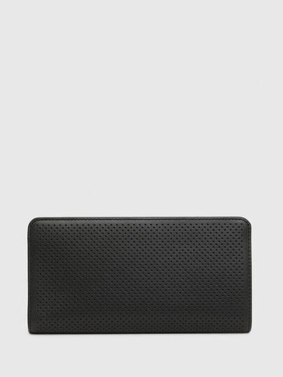 Diesel - V-24 ZIP, Black - Zip-Round Wallets - Image 2