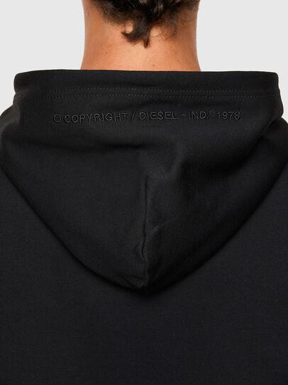 Diesel - S-UMMEREL-N1, Black - Sweatshirts - Image 4