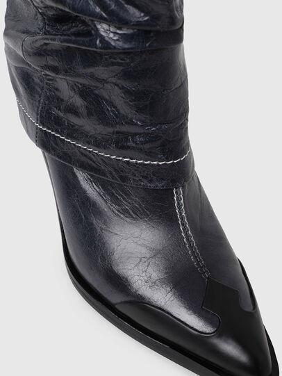Diesel - D-WEST MB, Blue - Ankle Boots - Image 4