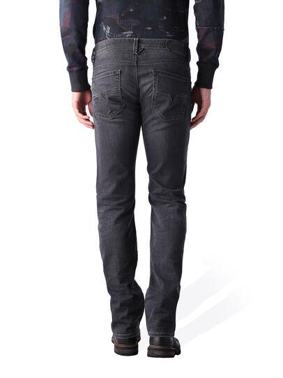 Diesel - Larkee 0669F, Black/Dark Grey - Jeans - Image 4