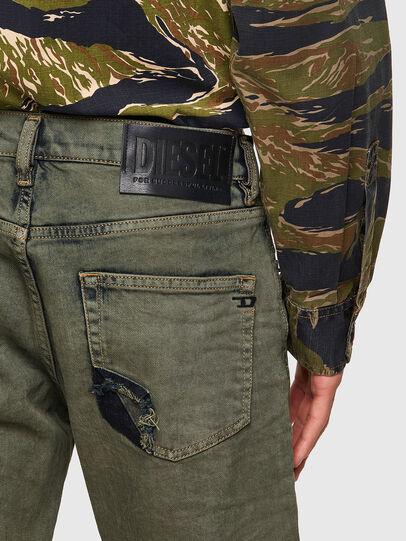 Diesel - D-Strukt Slim Jeans 09A50, Military Green - Jeans - Image 3