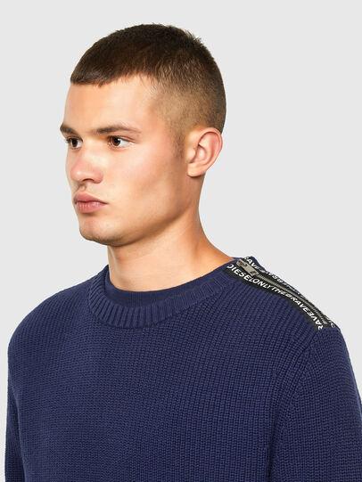 Diesel - K-GILLING, Blue - Sweaters - Image 3