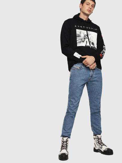 Diesel - T-FONTY-YB, Black - T-Shirts - Image 5