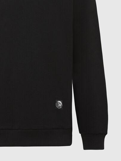 Diesel - S-GIRK-MOHI, Black - Sweatshirts - Image 3