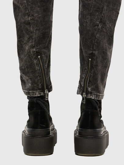 Diesel - FAYZA JoggJeans® 009FZ, Black/Dark Grey - Jeans - Image 5
