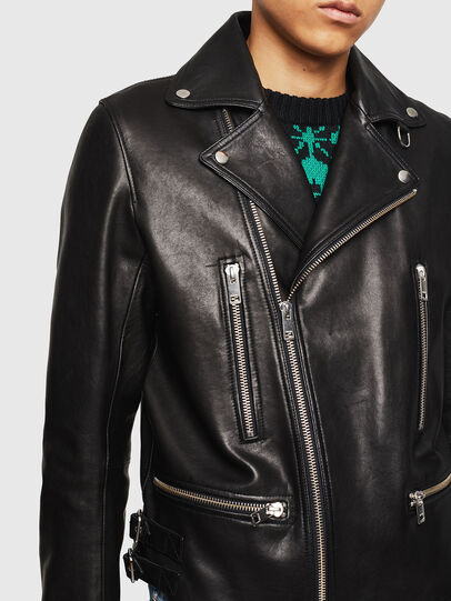 Diesel - L-GOTIV,  - Leather jackets - Image 3