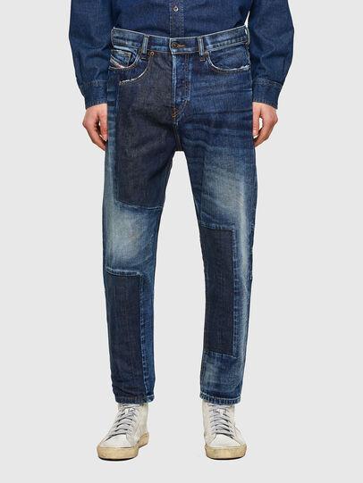 Diesel - D-Vider Carrot Jeans 009NJ, Medium Blue - Jeans - Image 1