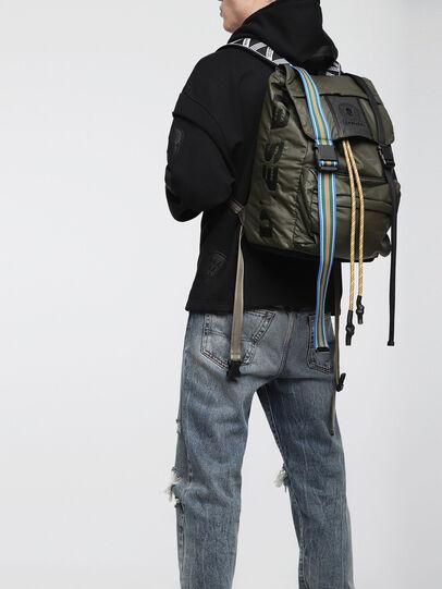 Diesel - M-INVICOLAB BACK II, Dark Green - Backpacks - Image 4