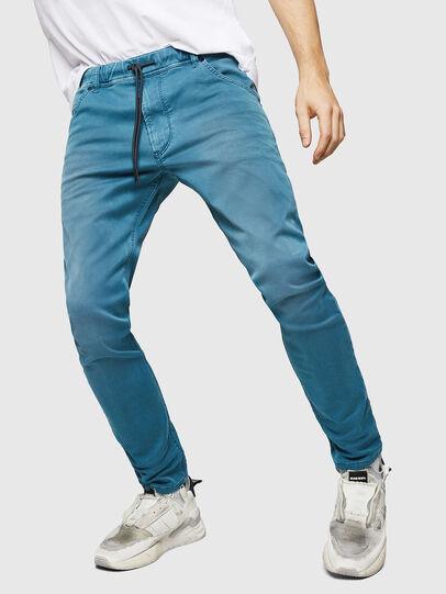 Diesel - Krooley JoggJeans 0670M, Light Blue - Jeans - Image 1