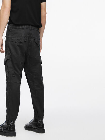 Diesel - Phanto JoggJeans 0EATZ, Black/Dark Grey - Jeans - Image 2
