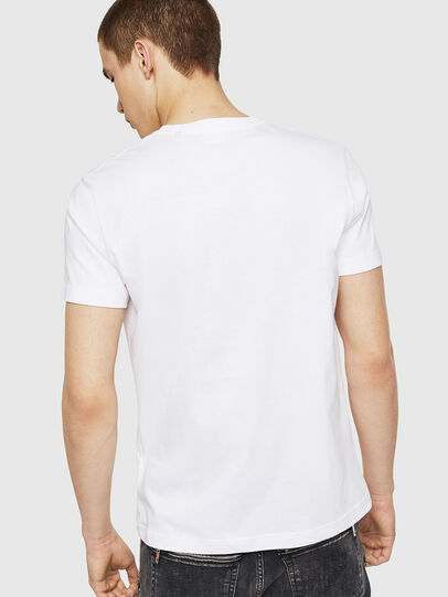 Diesel - T-DIEGO-A8, White - T-Shirts - Image 2
