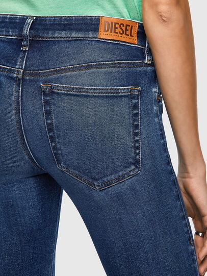 Diesel - Slandy Low Skinny Jeans 009ZX, Dark Blue - Jeans - Image 4