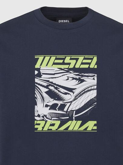 Diesel - T-DIEGOS-K33, Dark Blue - T-Shirts - Image 3