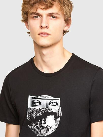 Diesel - T-INO, Black - T-Shirts - Image 3