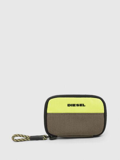 Diesel - LARIO, Green - Zip-Round Wallets - Image 1