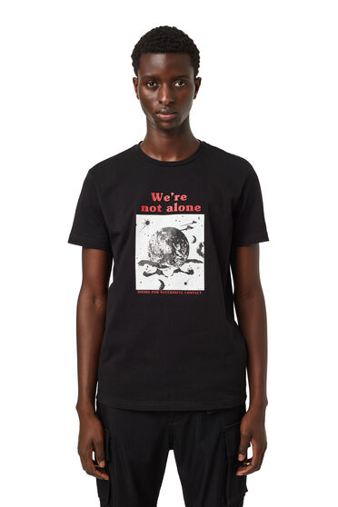 Green Label We're Not Alone T-shirt