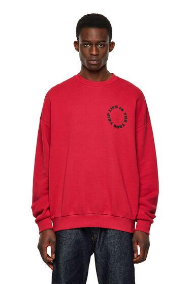 Green Label sweatshirt with fingerprint