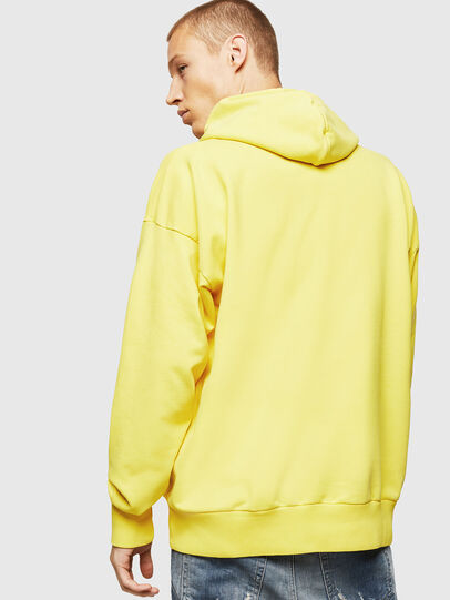Diesel - S-ALBY-B8, Yellow - Sweatshirts - Image 2