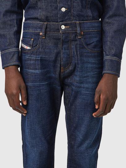 Diesel - D-Viker Straight Jeans 09A12, Dark Blue - Jeans - Image 3