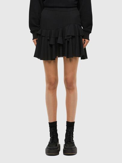 Diesel - O-KOEPY, Black - Skirts - Image 1