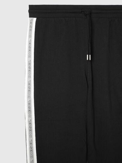 Diesel - UMLB-PETER, Black/White - Pants - Image 3