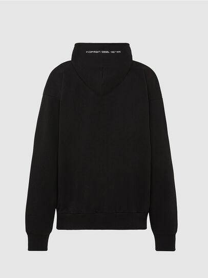 Diesel - S-ALBY-COPY-J1, Black - Sweatshirts - Image 2
