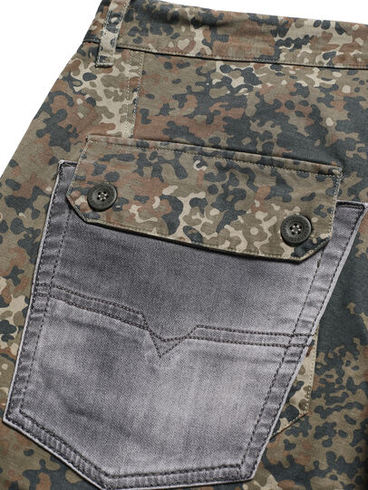 Diesel - D-ONT-HURT-ME, Green Camouflage - Pants - Image 6